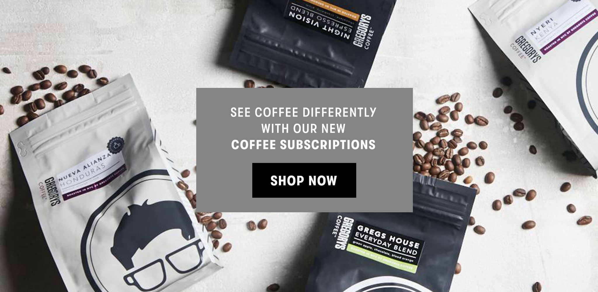 See Coffee Differently at home with our new Coffee Subscriptions